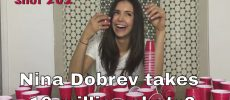 Nina Dobrev: Schnaps-Party für 10 Mio. Instagram Follower