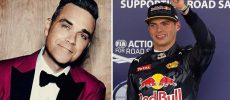 Take That: Robbie Williams crasht Verstappen-Botschaft!