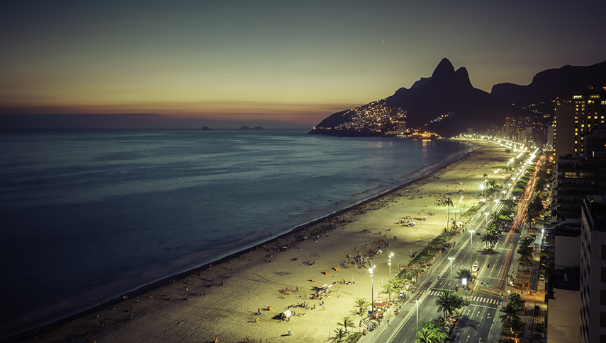 Ipanema in Brasilien